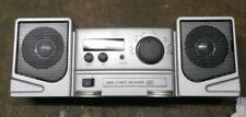Mini Compo AM/FM  Radio with alarm And Clock (as found)