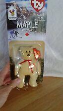 "Ty ""Maple The Bear"" Beanie Baby mini"