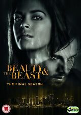 Beauty and the Beast Complete Series 4 DVD All Episode 4th Fourth Season UK NEW