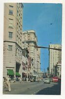 Peachtree Street in ATLANTA GA Vintage Georgia Postcard