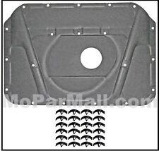Molded Hood Insulation Pad & Clip Set for 1970-1974 MoPar E-Body