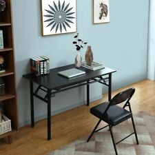Modern Folding Computer Desk Table Laptop PC Writing Study Workstation Office US