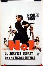Richard Todd : No 1 Of The Secret Service :  POSTER