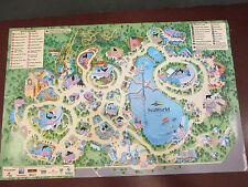 Seaworld-Adventure Park-Orlando-Florida-Them e Map And Schedule W/ Info On Back