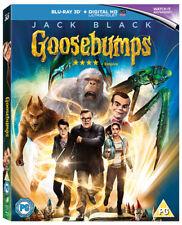 Goosebumps - Blu-ray 3d 2016 Jack Black