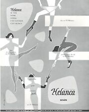 ▬► PUBLICITE ADVERTISING AD HELANCA Culotte bas collants lingerie BARLIER 1958
