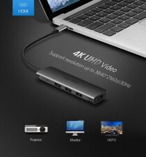 Ugreen USB-C Thunderbolt 3 Dock USB Type C à 3.0 HUB HDMI Adaptateur MacBook