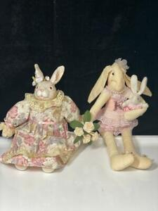 Vintage Bunny Family Plush