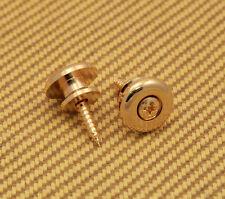 EOSB-G Gold Large Oversized Guitar / Bass Strap Buttons & Screws