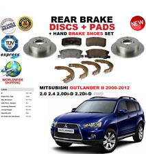 OEM SPEC REAR DISCS AND PADS 302mm FOR MITSUBISHI OUTLANDER 2.2 TD 2010-12