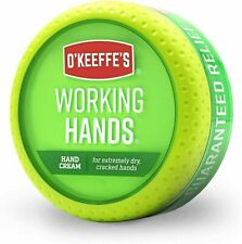 O'Keeffe's Working Hands Cream Lotion Dry Cracked Skin 3.4oz 722510035005