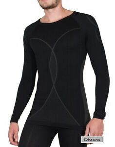 CMP Disegna Men's Seamless Thermal Stretch Base Layer Set NEW RRP £35