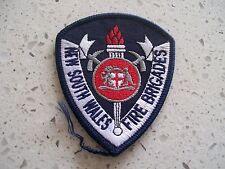 NSW FIRE BRIGADE .. NSWFB  ..  SHOULDER PATCH