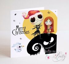 A NIGHTMARE BEFORE CHRISTMAS - Christmas Card - Son Daughter Brother Sister