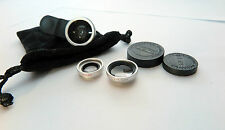 Camera Lens Kit Fish-Eye Wide-Angle & Macro Lens for Iphones Samsung Smartphones