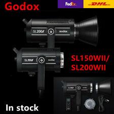 Godox SL150II 150W SL200II 200W LED video light Outdoor 5600K+ Wireless Remote