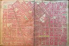 1906 BALTIMORE MARYLAND JOHNS HOPKINS UNIVERSITY ACADEMY OF MUSIC ATLAS MAP