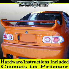 1992 1993 1994 1995 Honda Civic 2DR Scorcher Style Spoiler w/LED UNPAINTED
