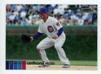 2020 Topps Stadium Club #14 ANTHONY RIZZO Chicago Cubs PHOTO BASEBALL CARD