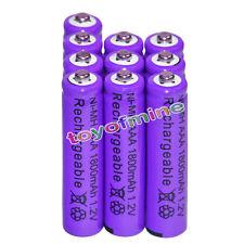 10x AAA battery batteries Bulk Nickel Hydride Rechargeable NI-MH 1800mAh 1.2V Pr