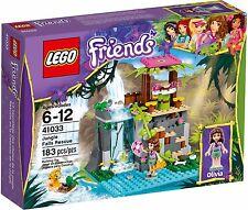 LEGO Friends 41033 Jungle Falls rescue BNIB set minifigure & tiger olivia water