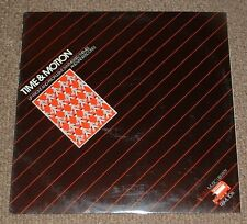 LIBRERIA MUSICALE Rosso Bus Time & Motion Peter Morris 1983 UK Stereo Elettronica
