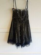 Precious Formals Black Short Cocktail Dress size 14