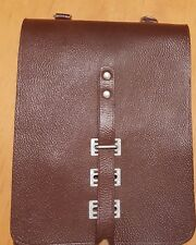 Original Karten Tasche / NVA / Stasi / DDR / Leder - NEU!