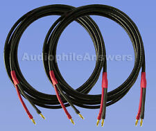 Straightwire Pro Special SC speaker cables 15' standard stereo pair w/ Bananas