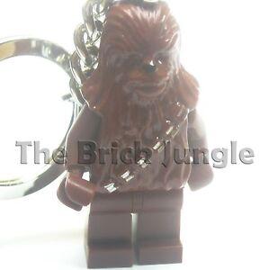 Lego Star Wars minifig Chewbacca keyring keychain clone 2 technic train batman 2