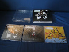 Muse Hyper Music Japan Triple CD Singles in Paper Box Sleeve with Outer Vinyl