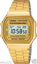 A168WG-9W Gold Original Casio Digital Watches A-168WG (no box)