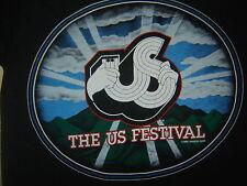 Vintage Concert t Shirt US FESTIVAL 82 POLICE DEAD KINKS CARS FLEETWOOD PETTY