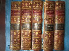 PEUCHET : DICTIONNAIRE UNIVERSEL DE LA GEOGRAPHIE COMMERCANTE, 1798. 5 vol. in-4
