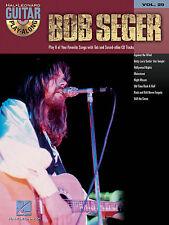 BOB SEGER GUITAR PLAY ALONG TAB SONG MUSIC BOOK & CD