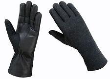 Cold Weather Nomex Tactical Flyer Flight  Gloves-Fleece Liner*Black,Green & Tan*