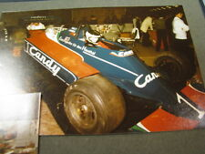 Photo Candy Tyrrell Ford 010 1980 Daly / Jarier Racing Show Zwolle 1981 2 photos