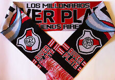 RIVER PLATE Buenos Aires Football Scarves New from Superior Acrylic Yarns