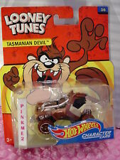2017 LOONEY TUNES Hot Wheels #3/6 TASMANIAN DEVIL❊Brown TAZ❊character cars❊1/64