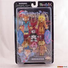 Thundercats Classic Minimates set #3 Cheetara, Tygra, Wilykit, WilyKat, Ro-Bear