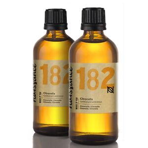 Naissance Citronella 200ml (2x100ml) 100% naturreines ätherisches Citronellaöl