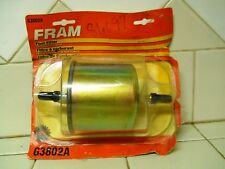 2 NEW FRAM IN LINE FUEL FILTERS  G3802A            10