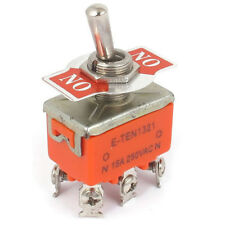 Q4 DPDT On/on 2 Positions 6 Screw Terminal Toggle Switch AC 250v 15a