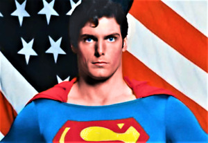 "SUPERMAN - CHRISTOPHER REEVE - 3.5"" x 5"" REFRIGERATOR PHOTO MAGNET"