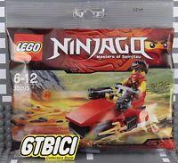 LEGO NINJAGO  POLYBAG MINIFIGURA KAI DRIFTER   Ref 30293  NUEVO A ESTRENAR