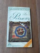 1995 La cuisine diététique Les Poissons Marzouk  recettes illustré  Gastronomie