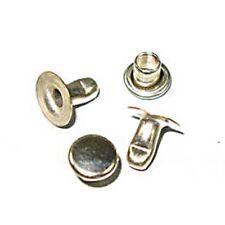 Rapid Rivets Small 5.5mm Cap 7mm Post Nickel