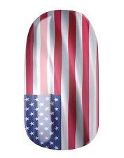 NAGELFOLIEN... NAIL WRAPS by GLAMSTRIPES - USA FLAGGE 0411