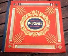 """Sammelbilder Album Waldorf Astoria """"Uniformen der alten Armee """" 1 Bild fehlt"""