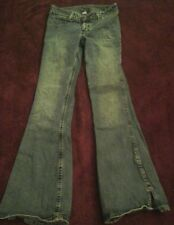 Silver Jeans Western Glove Works   Boot Cut  28X31 Distressed  At Bottom